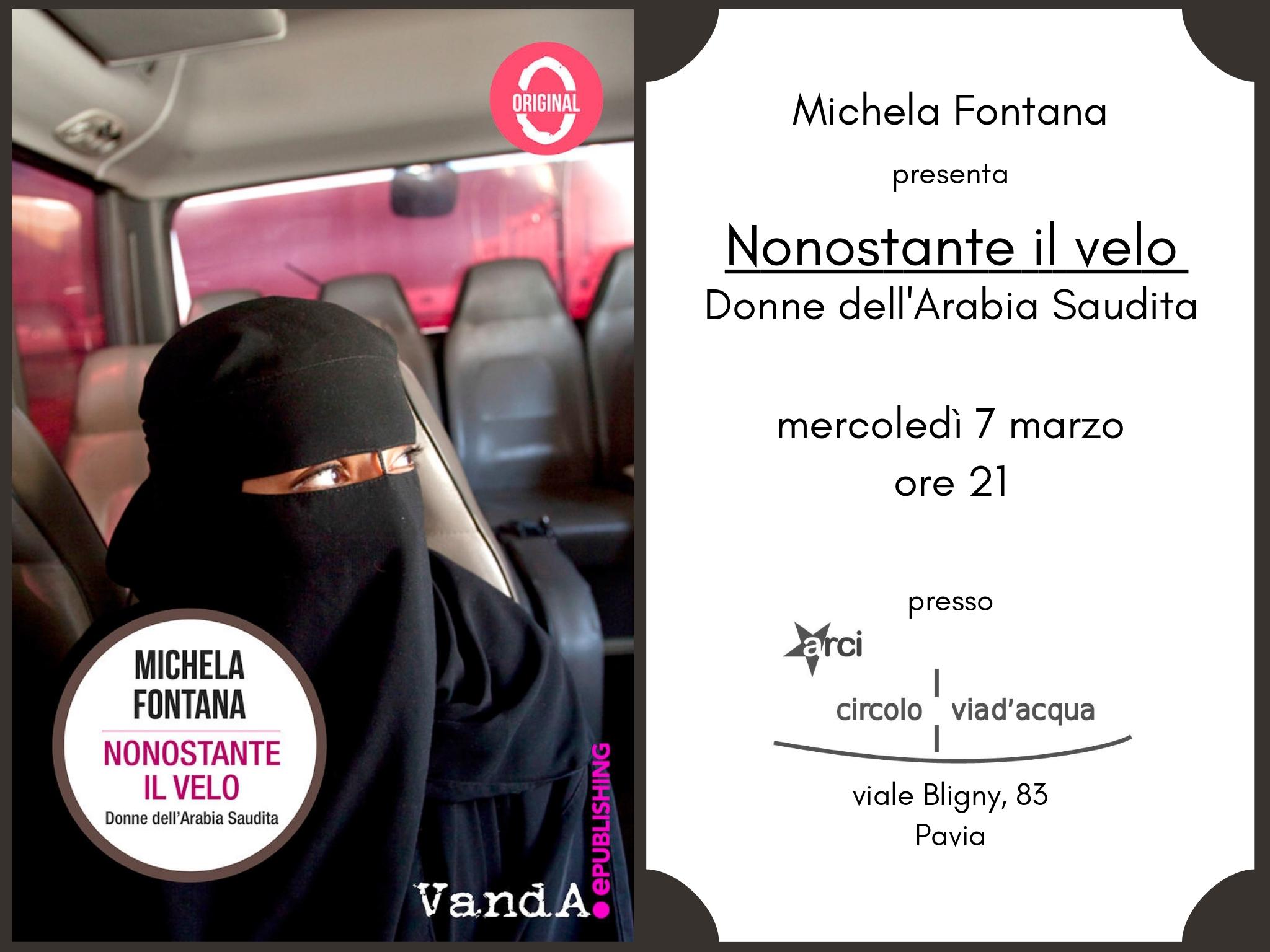 """Eventi – """"Nonostante il velo"""" @Circolo Via d'Acqua, Pavia"""