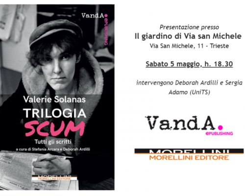 "Evento – ""Trilogia SCUM"" @ Libreria Minerva, Trieste"