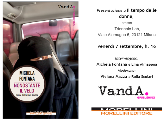 """Evento – """"Nonostante il velo"""", @Il tempo delle Donne"""