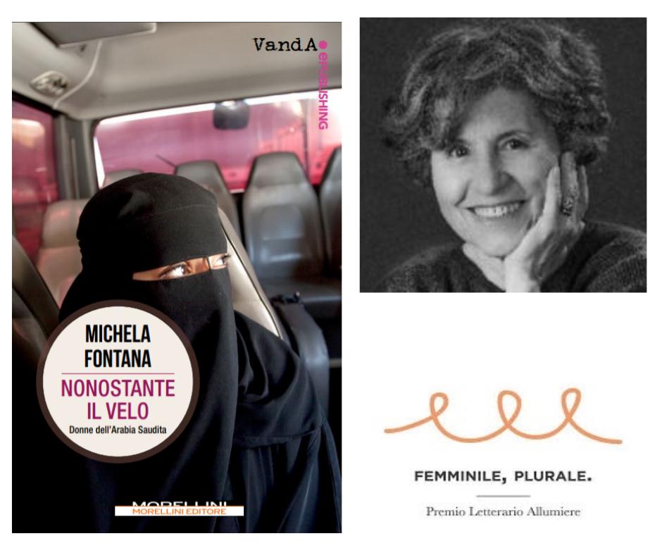 Michela Fontana, premiata per il suo sguardo Femminile, Plurale
