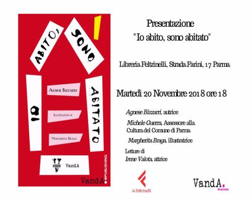 """Evento – """"Io abito, sono abitato"""" @Feltrinelli, Parma"""