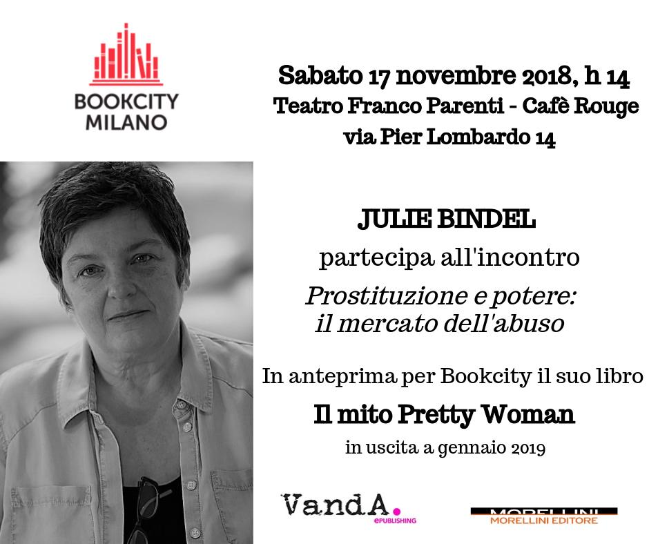 Julie Bindel a Bookcity