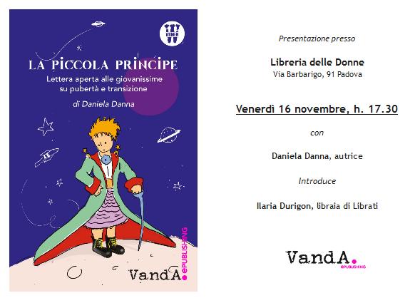 """Evento – """"La piccola principe"""" @Libreria delle Donne, Padova"""