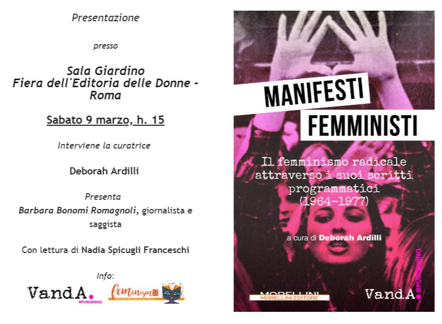 Manifesti femministi – Feminism2
