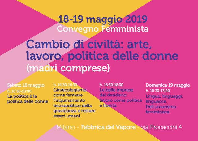 Convegno femminista – Milano