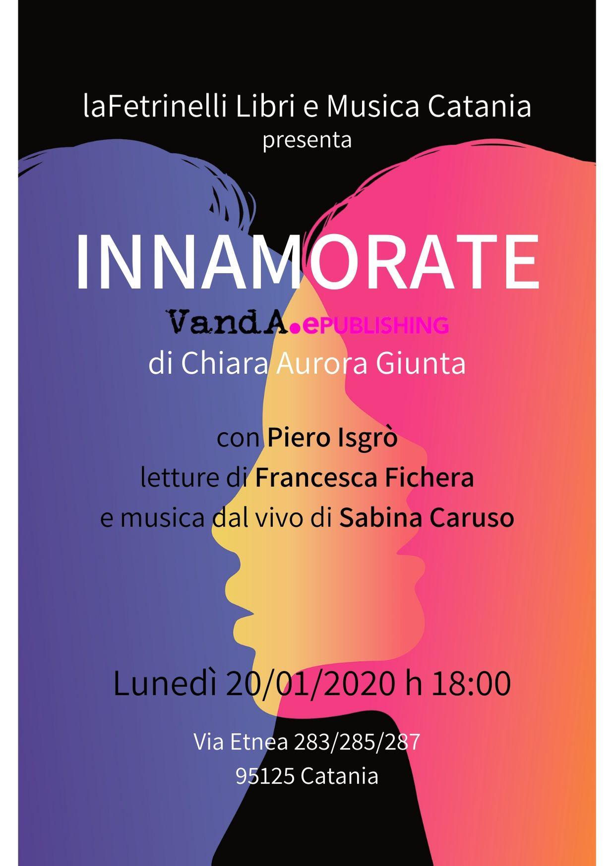 Presentazione Innamorate laFeltrinelli di Catania