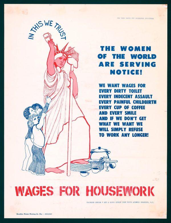 Salario domestico: il lavoro casalingo è un lavoro?