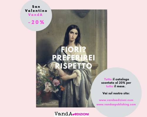 San Valentino VandA: tutto il catalogo al – 20%